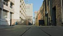 Albuquerque NM Alleyway Dolly Shot