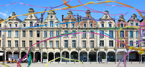 Arras (France) - Grand Place Canvas Print