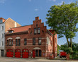 canvas print picture - Historische Feuerwache in Berlin-Oberschöneweide