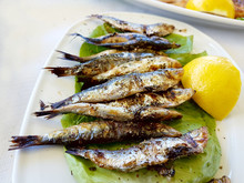 Sardines Grilled Lemon Greece ...