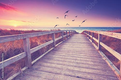 Fotografie, Obraz  romantischer Ort zum Entspannen