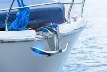 Bow Of Luxury Boat