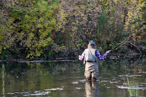Fotobehang Vissen fisherman, fisher, fishman, banker