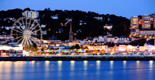 Torquay Promenade At Dusk With...