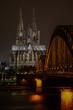 Nachtaufnahme Kölner Dom