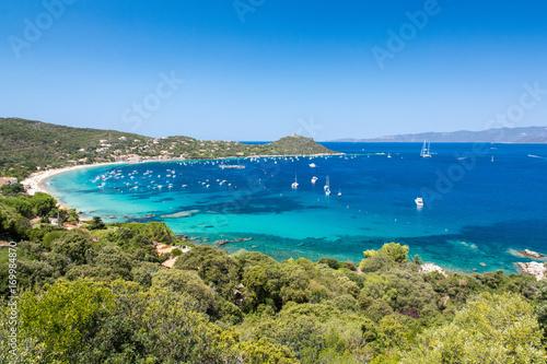 Corse - Baie de Campomoro Fototapeta