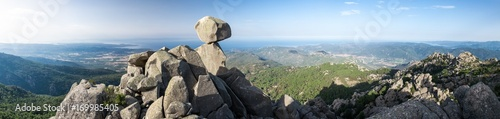Fotografija Corse - Panorama de l'Uomo di Cagna