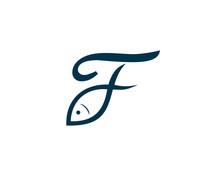 Fish Initial Logo