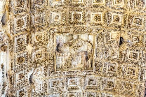 Titus Arch Emperor Jerusalem Victory Roman Forum Rome Italy Wallpaper Mural