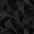 Seamless Background - Black Triangles