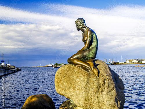 Photo  Kopenhagen, Die Kleine Meerjungfrau, Dänemark, Seeland