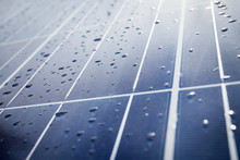 Detail Of Solar Panel Plates W...