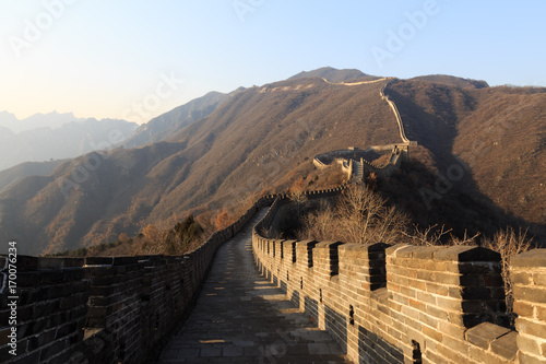 Keuken foto achterwand Chinese Muur The Great Wall of China. The Great Wall of China is the world's longest wall and biggest ancient architecture