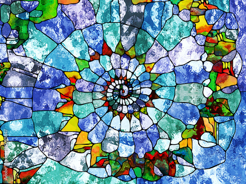 Fotografie, Obraz Organic Pattern Abstraction