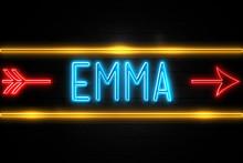 Emma  - Fluorescent Neon Sign ...