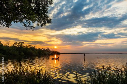 Sonnenuntergang im Naturpark Steinhuder Meer