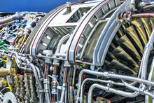 Aviation Turbojet Engine Equip...