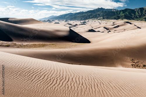 Foto  Paysage de dune dans le Great Sand Dunes National Park