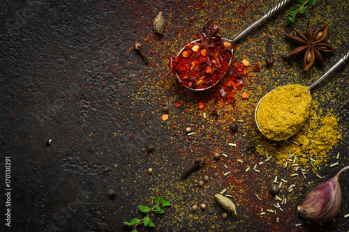 spices-food-background-selection