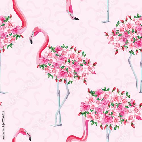 rozowy-cialo-flamingo-wzor-roz