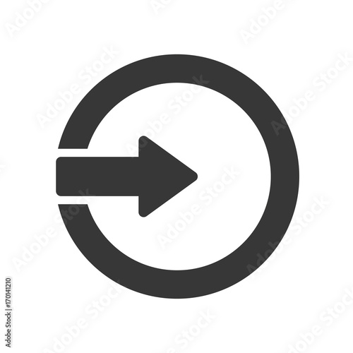 Fotografía  Enter icon illustration - stock vector