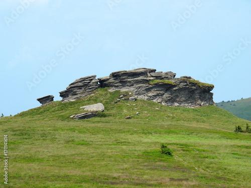 Obraz na plátně  Rock formation Peter Stones (Petrovy kameny)