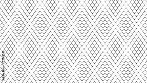 Photo metal mesh fence