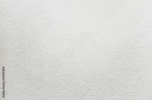 Cuadros en Lienzo  Watercolor white paper texture. Empty clear blank background.