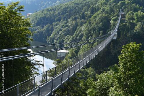 Fotografie, Obraz  Seilhängebrücke