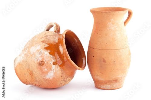 Fototapeta clay jug handmade obraz