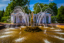 Fountains Of Peterhof. Petrodv...