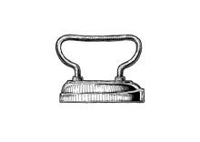 Illustration Of Sad Iron
