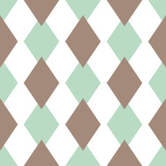 Panel SzklanyScandinavian seamless texture of triangle