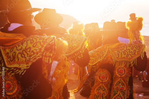 Canvas Prints South America Country Peruvian dance