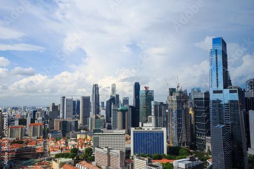 Photo  cityscape view of Singapore