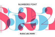Font Of Numbers In Classical F...