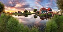 Panorama Landscape Windmills O...