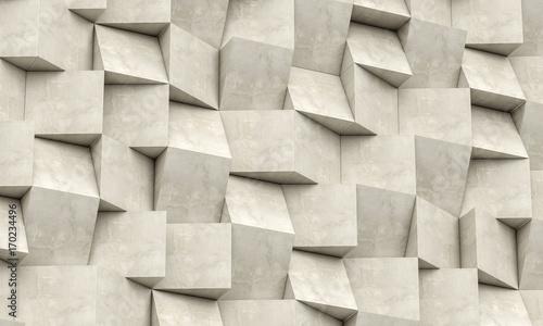 Obraz Sciana 3d Geometryczne Tlo 170234496 Obrazy 3d