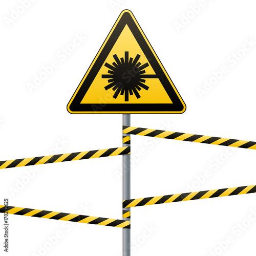 Fotografie, Obraz  Caution - danger Warning sign safety