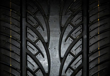 Car Tire Background, Tyre Text...