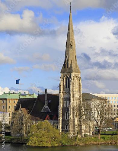 Photo Saint Alban's Church in Copenhagen