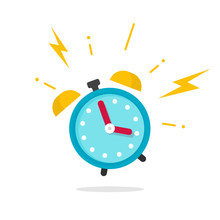 Alarm Ringing Icon Vector Illu...