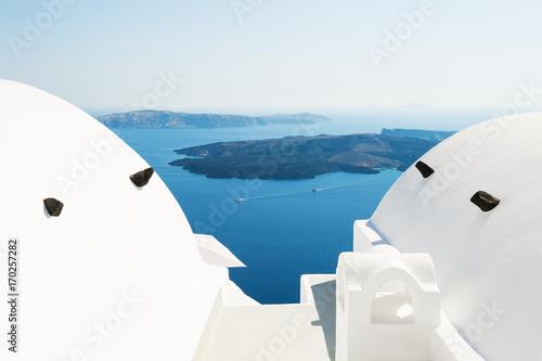 Papiers peints Santorini White architecture on Santorini island, Greece.