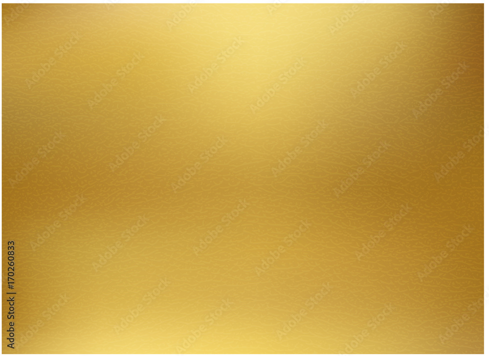 Fototapety, obrazy: Gold background, gold polished metal, steel texture