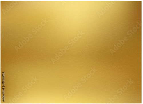 Canvas Print Gold background, gold polished metal, steel texture