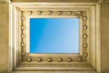 Blue Sky Through Classic Recta...