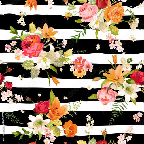 lily-i-orchid-kwiaty-bez-szwu-tla-kwiatowy-wzor-w-wektorze