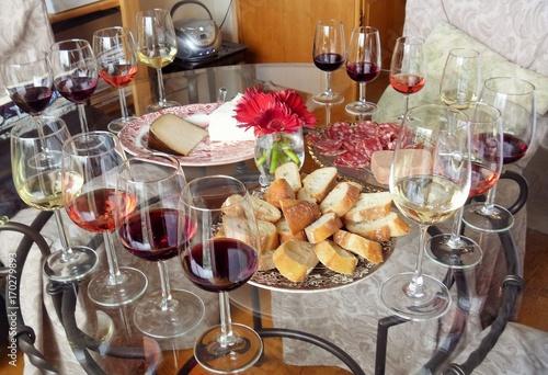 Fotomural Wine Tasting