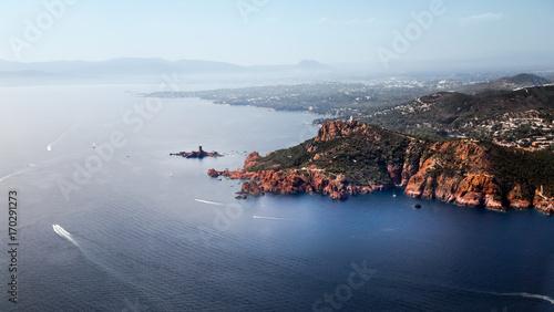 Tuinposter Mediterraans Europa ESTEREL