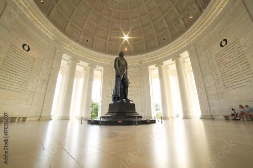 Fotomural  Thomas Jefferson Memorial in Washington DC